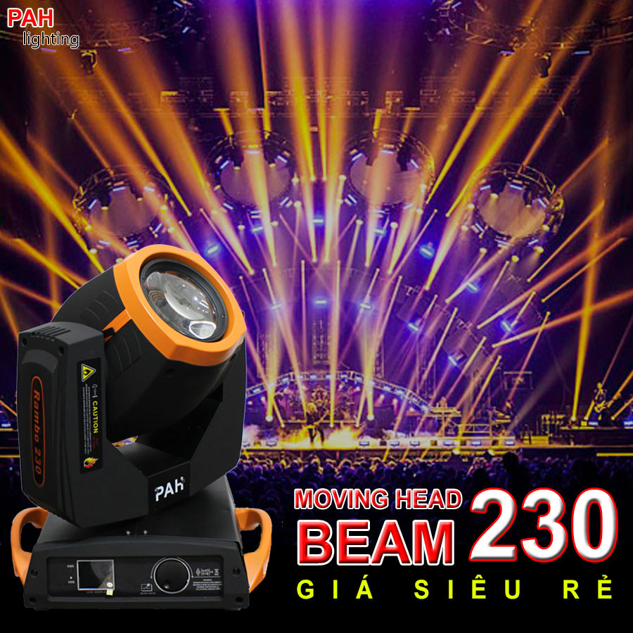 Đèn moving head beam giá rẻ, 230w đời mới