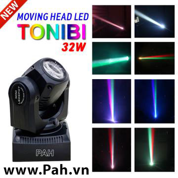 Đèn moving head 1 đầu Tonibi new 32w