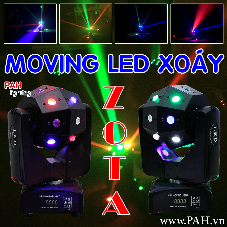 Đèn trang trí sân khấu MOVING LED ZOTA