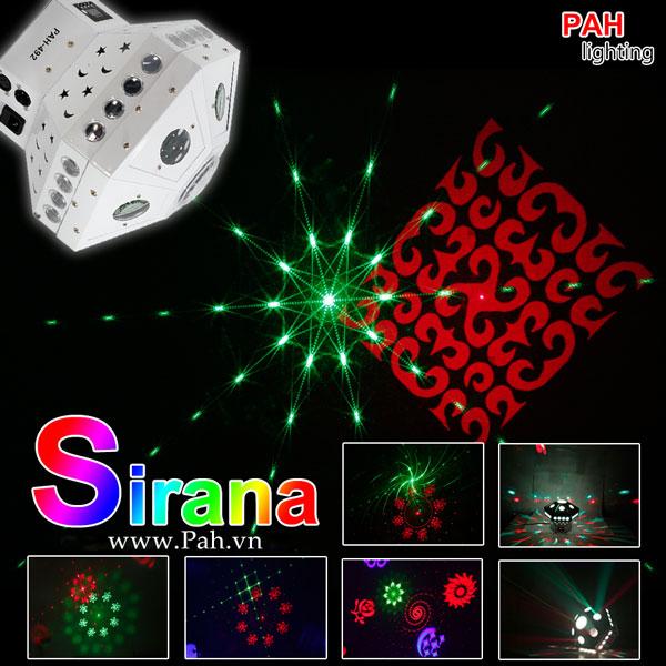 Đèn led cho vũ trường SIRANA