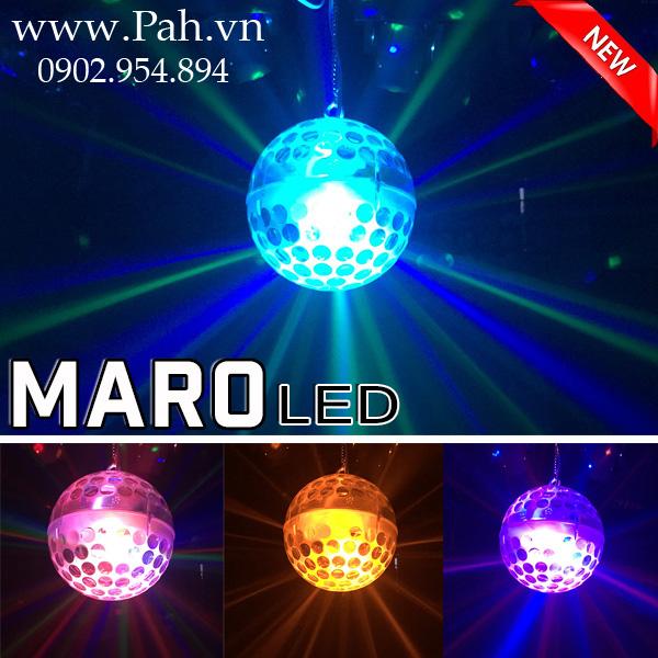Đèn Qủa cầu led trong suốt Maro cho Karaoke phòng nhỏ