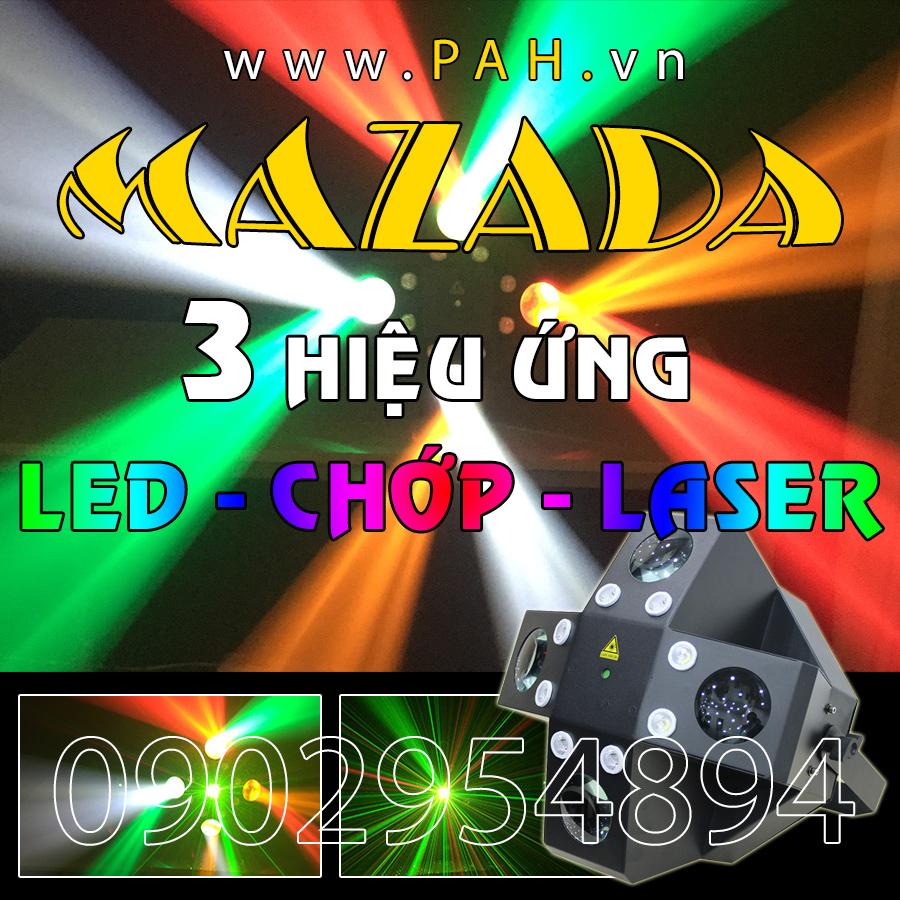 Đèn led cảm ứng theo âm thanh Mazada 3 trong 1