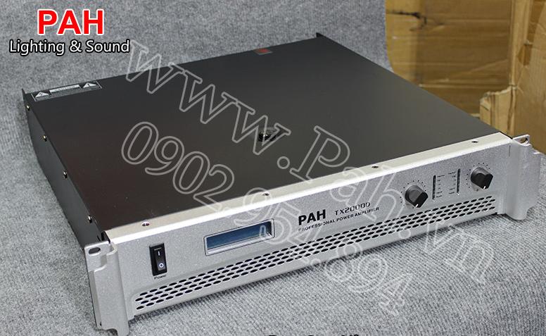 Main Công Suất PAH – TX 2000D
