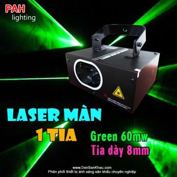 Đèn Laser Green 60mW