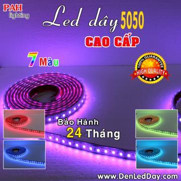 Đèn LED Dây 5050 7 Màu Chịu Nước
