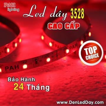 Đèn LED dây 3528 Đỏ Siêu Sáng (RED)