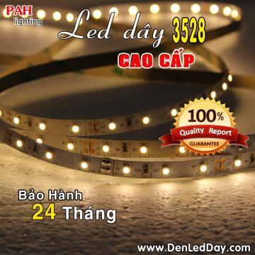 Đèn LED dây 3528 Trắng Ấm