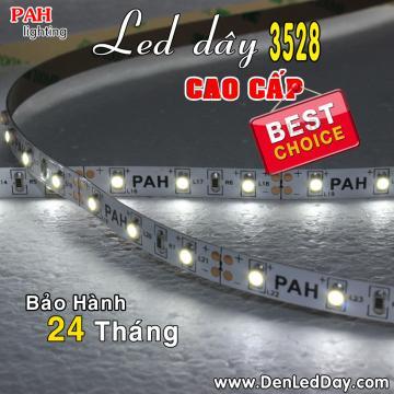 Đèn LED dây 3528 Trắng Siêu Sáng (white)