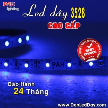 Đèn LED dây 3528 Xanh Dương (Blue)