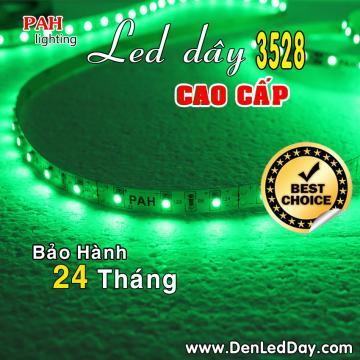 Đèn LED dây 3528 xanh lá (Green)
