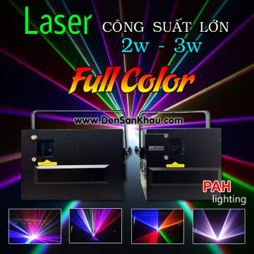 Đèn Laser RGB 2W - 3W