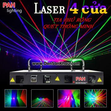 Laser Regal 4 Cửa 4 màu siêu sáng