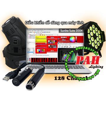 Điều Khiển Đèn Sân Khấu DMX BB card 128 Giá Rẻ