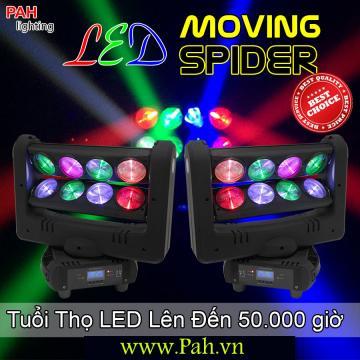 Đèn LED Sân Khấu Moving Spider siêu sáng