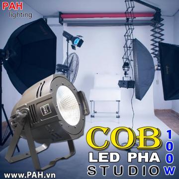 Đèn Led Pha Chuyên Dùng Studio 100W COB