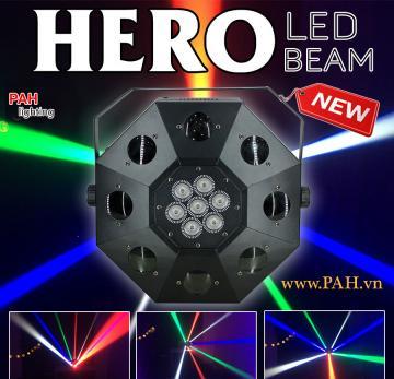 Đèn led trang trí karaoke HERO