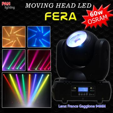 Đèn moving head beam 60w OSRAM