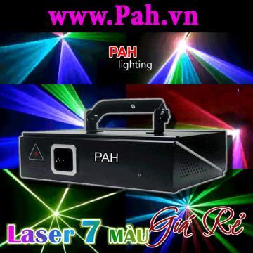 Đèn laser quét tia 7 màu giá rẻ