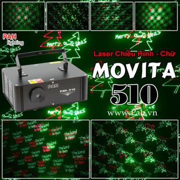 Đèn laser chiếu hình MOVITA cho phòng karaoke