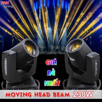 Đèn moving head beam 230w giá rẻ nhất, bảo hành 12 tháng chính hãng