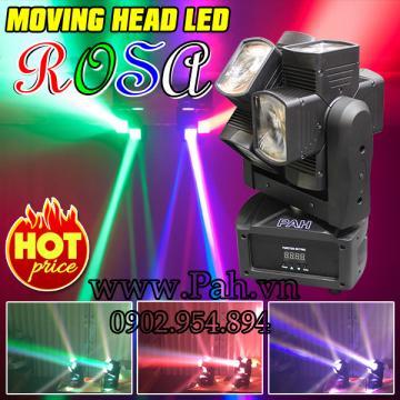 Moving head Rosa 2 đầu quay sôi động cho beer club