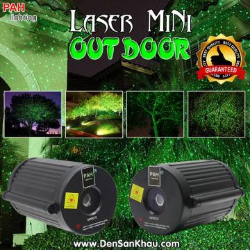 Đèn laser mini trang trí ngoài trời chấm bi chịu nước