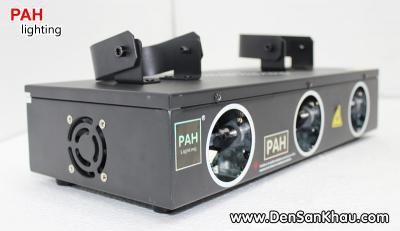 Đèn Laser 3 Mắt RGB, quét tia cực rộng 3