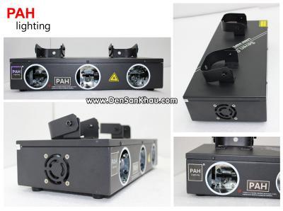 Đèn Laser 3 Mắt RGB, quét tia cực rộng 6