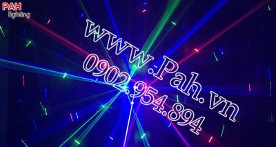 Đèn laser 6 mắt 2 hiệu ứng cho phòng nhảy  5
