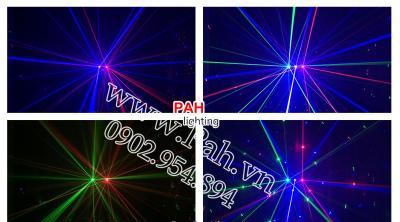 Đèn laser 6 mắt 2 hiệu ứng cho phòng nhảy  6
