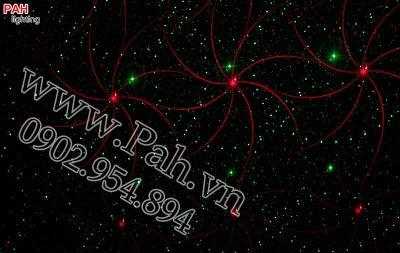 Đèn laser trang trí phòng karaoke 7