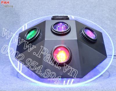 Đèn led hiệu ứng 7 màu MARU cho phòng hát với nhau, karaoke 2