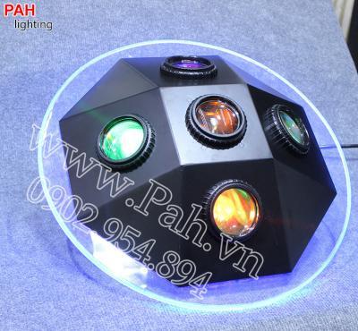 Đèn led hiệu ứng 7 màu MARU cho phòng hát với nhau, karaoke 3