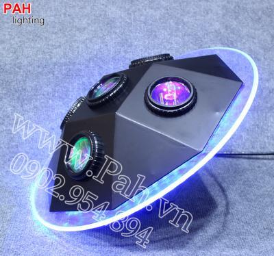 Đèn led hiệu ứng 7 màu MARU cho phòng hát với nhau, karaoke 1