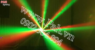 Đèn xoay nhảy theo nhạc nhiều màu  7
