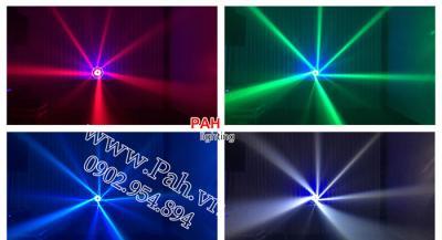 Đèn xoay nhảy theo nhạc nhiều màu  8