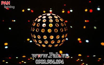 Đèn led vũ trường Nhím Xoay Gala 3
