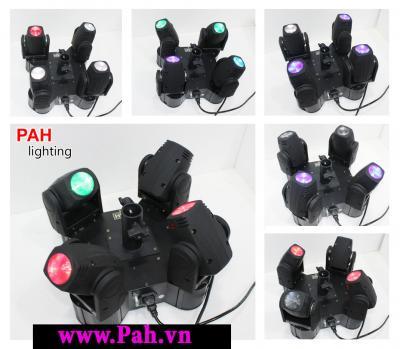 Đèn Moving Head 4 Đầu FourB 2