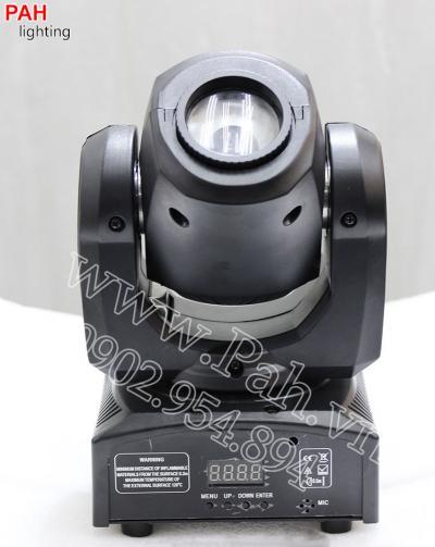 Đèn moving head mini công suất 10w nhỏ gọn dễ thương 2