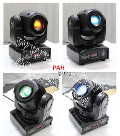 Đèn moving head mini công suất 10w nhỏ gọn dễ thương 4