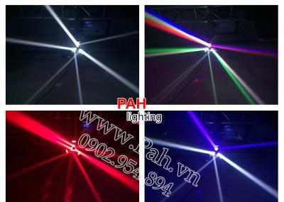 Đèn Sân Khấu Moving LED 3 Đầu 2