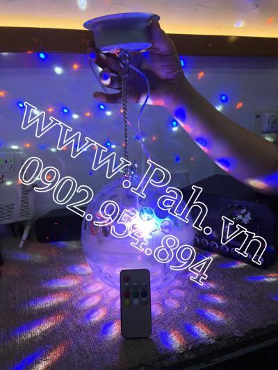 Đèn Qủa cầu led trong suốt Maro cho Karaoke phòng nhỏ 6