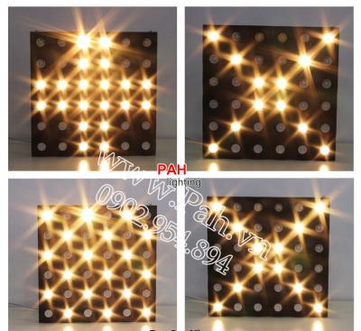 LED blinder 36 bóng pha trắng ấm 5
